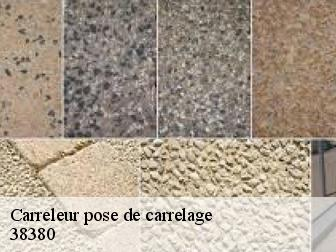 Pose de carrelage  38380