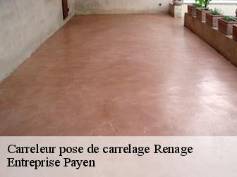 Pose de carrelage  renage-38140