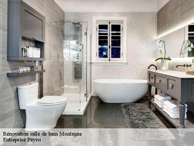 Entreprise de renovation salle de bain à Montagne tél: 04.82.29.30.90